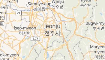 Online-Karte von Jeonju