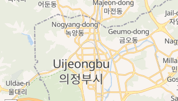 Online-Karte von Uijeongbu