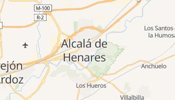 Online-Karte von Alcalá de Henares