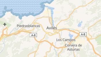 Online-Karte von Avilés