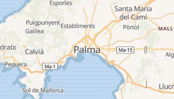 Online-Karte von Palma de Mallorca