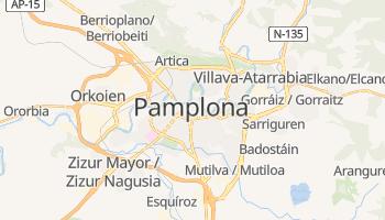 Online-Karte von Pamplona