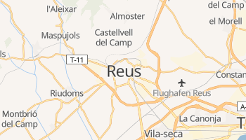 Online-Karte von Reus