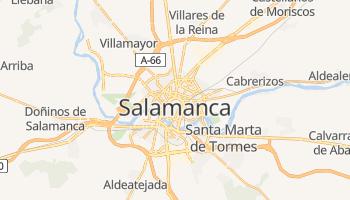 Online-Karte von Salamanca