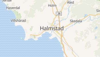 Online-Karte von Halmstad