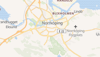 Online-Karte von Norrköping