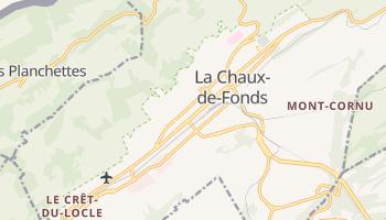 Online-Karte von La Chaux-de-Fonds