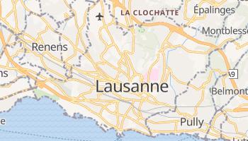 Online-Karte von Lausanne