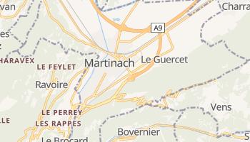 Online-Karte von Martigny VS