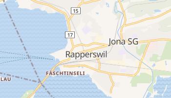 Online-Karte von Rapperswil SG