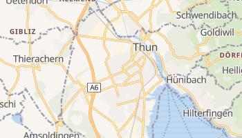 Online-Karte von Thun