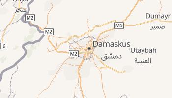 Online-Karte von Damaskus