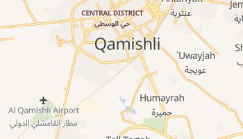 Online-Karte von Qamischli