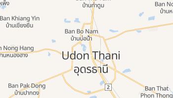 Online-Karte von Udon Thani