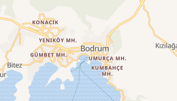 Online-Karte von Bodrum