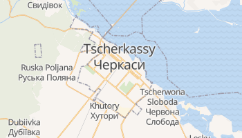 Online-Karte von Tscherkassy