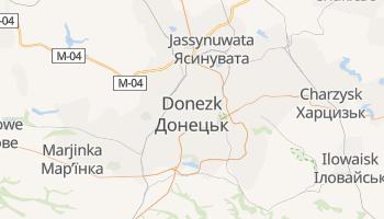 Online-Karte von Donezk