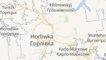 Online-Karte von Horliwka