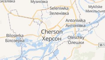 Online-Karte von Cherson