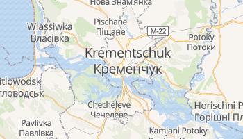 Online-Karte von Krementschuk