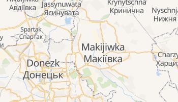 Online-Karte von Makijiwka