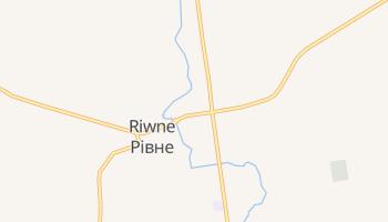 Online-Karte von Riwne