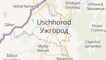 Online-Karte von Uschhorod