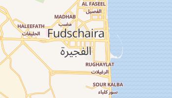 Online-Karte von Fudschaira