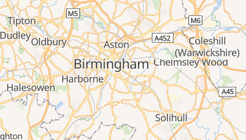 Online-Karte von Birmingham