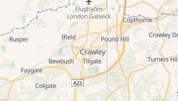 Online-Karte von Crawley