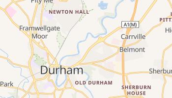 Online-Karte von Durham