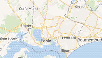 Online-Karte von Poole