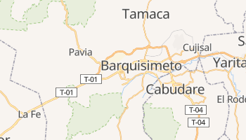 Online-Karte von Barquisimeto