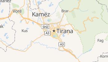 Tirane online map
