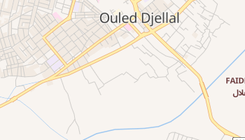 Ouled Djellal online map