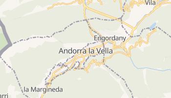Andorra La Vella online map