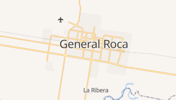 General Roca online map