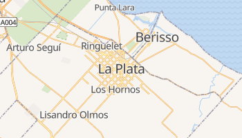 La Plata online map