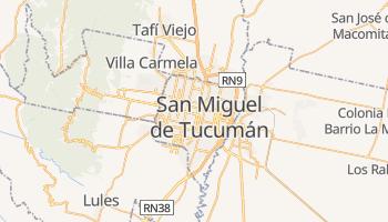 San Miguel De Tucuman online map