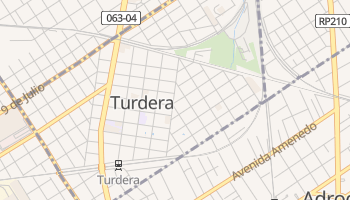 Turdera online map