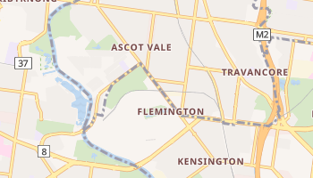 Ascot Vale online map