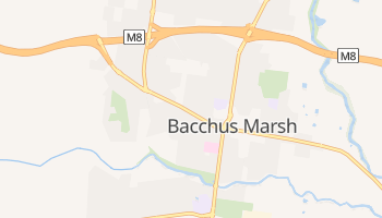 Bacchus Marsh online map