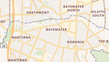 Bayswater online map