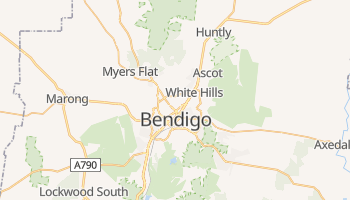 Bendigo online map