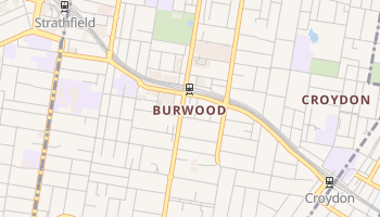 Burwood online map