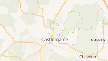 Castlemaine online map