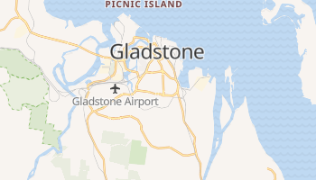 Gladstone online map