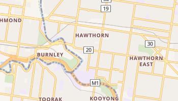 Hawthorn online map