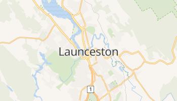 Launceston online map