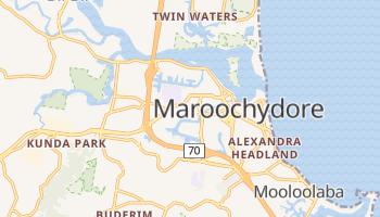 Maroochydore online map